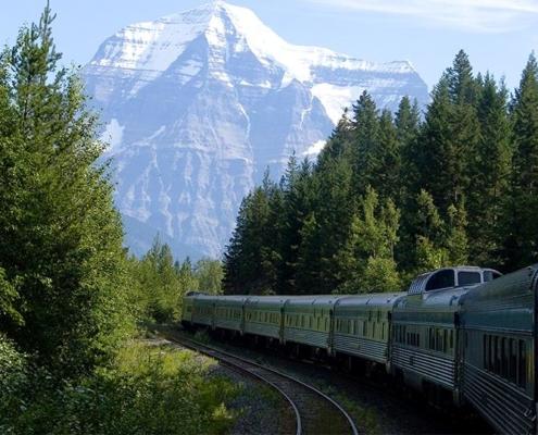 Reisen mit dem Zug durch Kanada